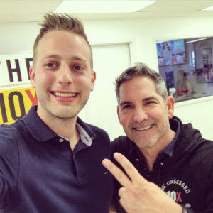Filip Pesek and Grant Cardone