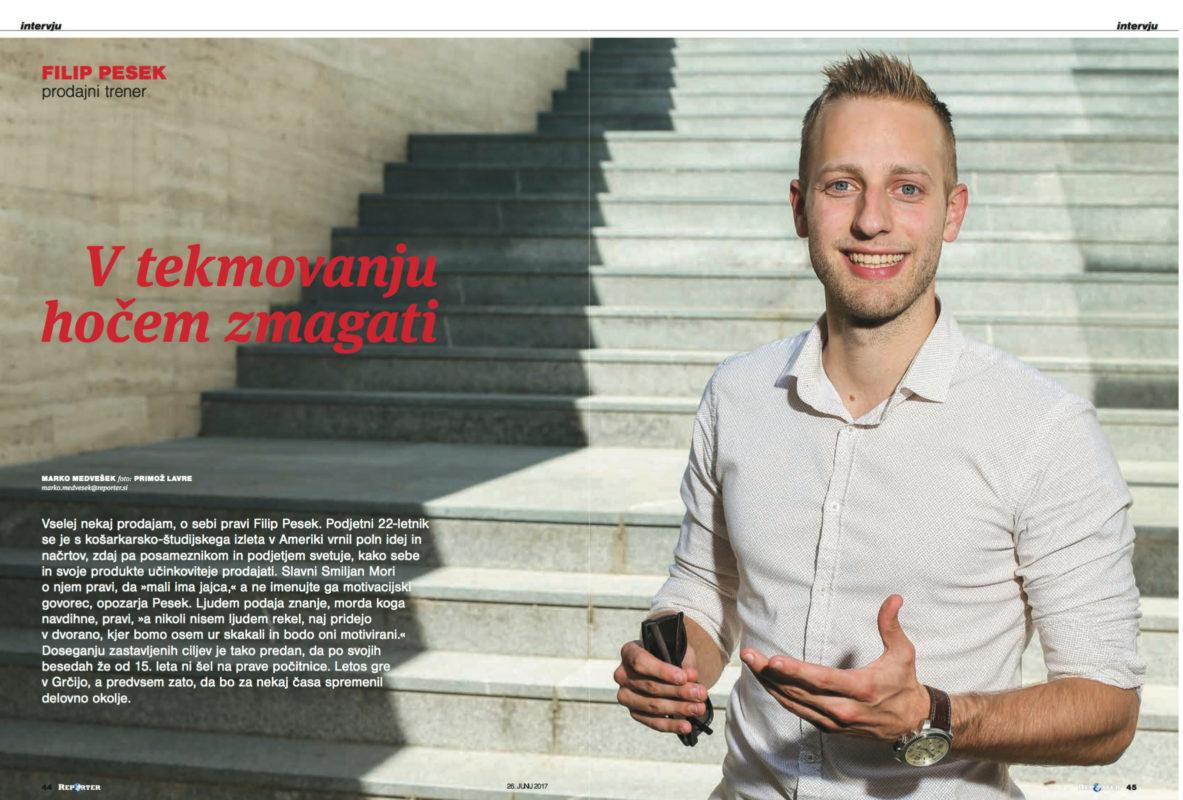 Filip Pesek - Reporter